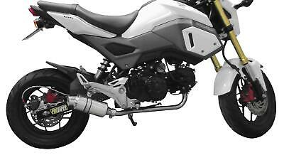 Ac Low Exhaust (MAC LOW MOUNT ALUMINUM CANISTER EXHAUST SYSTEM FOR GROM)