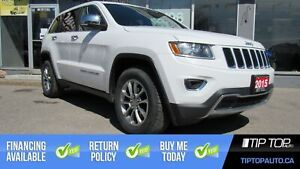 2015 Jeep Grand Cherokee Limited ** Nav, 4 New Tires, 4x4, Sunro