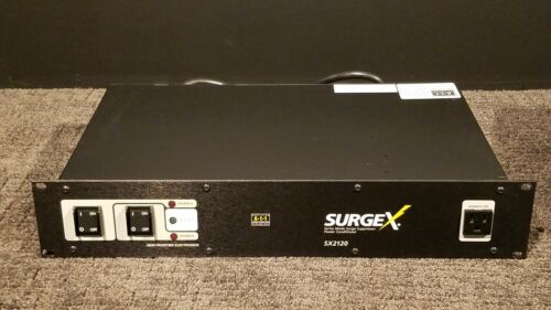 """SurgeX SX-2120 20-Amp 15-Outlet Surge Protector, """"Great Condition"""""""