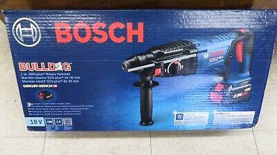 Bosch Gbh18v-26dk24 18v Ec Brushless Sds-plus Bulldog 1 Rotary Hammer Kit