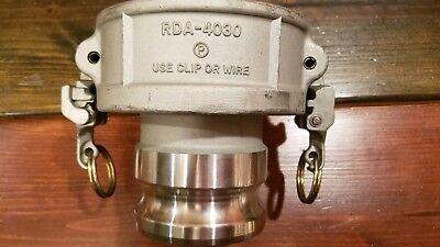 Dixon Rda-4030 Ez Coupler 4 X 3 Adapter Reducer Stainless Steel