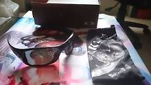 Oakley antix polarized ghost text sunglasses South Plympton Marion Area Preview
