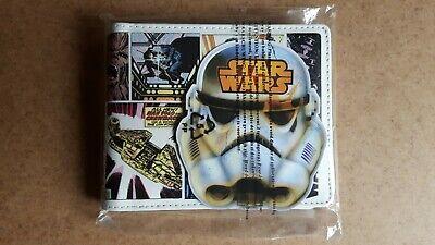 Star Wars Comic Strip Style Wallet Brand New Lucasfilm Disney