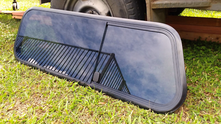 Passenger side canopy  window