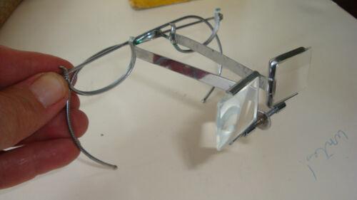 Antique American Optical Beebe Binocular Loupe Vtg Retro Magnifying Glasses