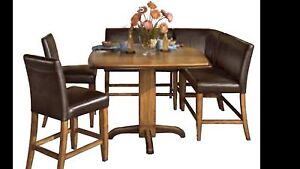 Urbandale 6-piece High Table Set