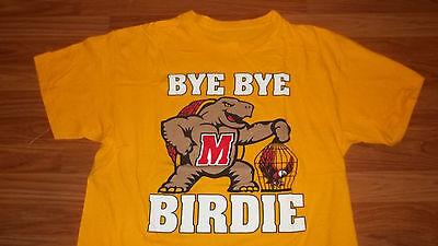 Cool Ncaa Maryland Terrapins College Basketball Logo T Shirt Xl Mens Womens
