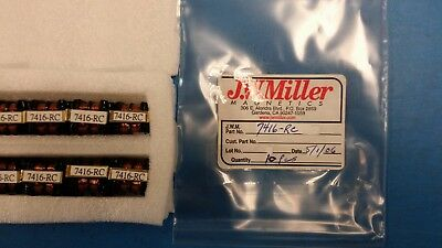 1 Pc 7416-rc Jw Miller Ind Common Mode Choke 30mh 1khz 500ma Pin