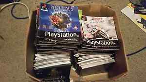 Box of PS1 Manuals Surrey Downs Tea Tree Gully Area Preview