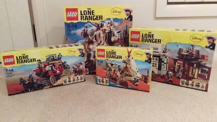 LEGO - LONE RANGER SETS  X 4