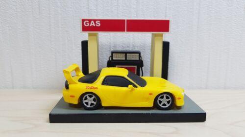 Banpresto Initial D MAZDA RX-7 FD3S Red Suns Keisuke Gas Pump Diorama figure