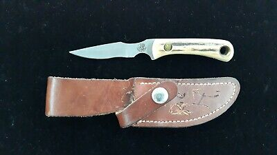 Knives of Alaska Cub Bear - D2 Steel w/ Stag Handle Alaska Cub Bear Knife