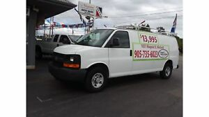2009 Chevrolet Express 2500 Installed shelving, EXT and ready to
