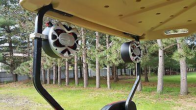 NEW Custom Speakers Golf Cart EZ GO Club Car Yamaha Radio Pods Stereo Enclosures Golf-cart Stereo