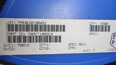 10 Per Lot 74act109sc Ic Flip Flop Jktype 16 Pin Soic
