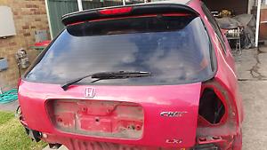 Honda Civic ek 2000 hatch tailgate Seven Hills Blacktown Area Preview