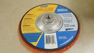Type 27 Grinding Wheel,7 In,5/8-11 NORTON 66623303919 11 Type 27 Wheel