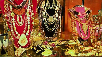 banana's vintage costume jewelry