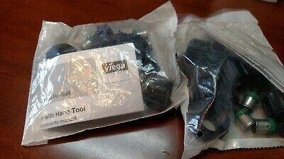 Viega  49224 38 Pex Press X 12 Manabloc Adapters 12 Adapters  New