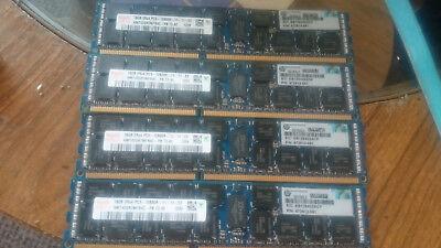 Hynix HMT42GR7MFR4C-PB T3 AE 16GB DDR3 PC3-12800R PN: 672612-081 ECC Server RAM