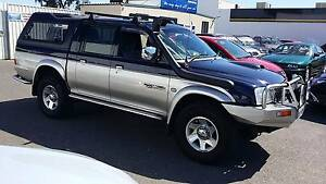 2004 Mitsubishi Triton Turbo Diesel Dual Cab 4x4 Clovelly Park Marion Area Preview