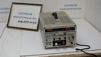 Kikusui Plz15 150w 4-60v 0-30a 3.5 Digi Meter Electronic Load