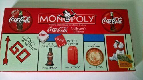 Coca Cola Monopoly Game Collector
