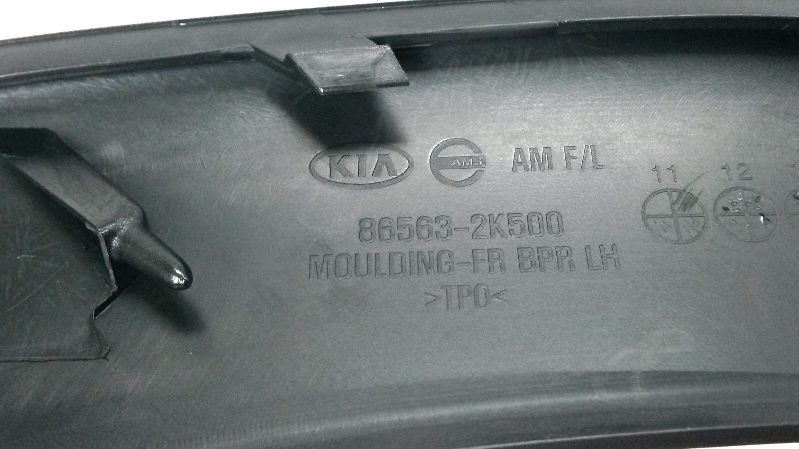 KIA OEM 12-13 Soul-Bumper Trim-Molding Trim Left 865632K500