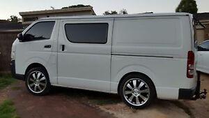 2012 Toyota Hiace Van/Minivan Port Noarlunga South Morphett Vale Area Preview