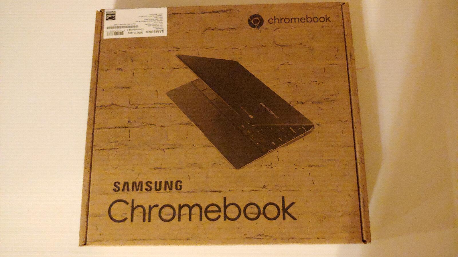New Samsung Chromebook 3 Metalic Black