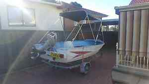 12ft tinny and trailer Busby Liverpool Area Preview