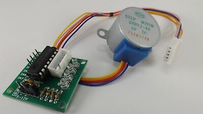 5v Uln2003 28byj-48 4-phase Stepper Motor With Driver Board For Arduino Pi Pic