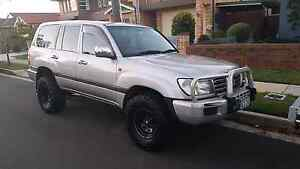 Toyota Landcruiser 2002 Manual Diesel 100 Series MAKE ME AN OFFER Concord Canada Bay Area Preview