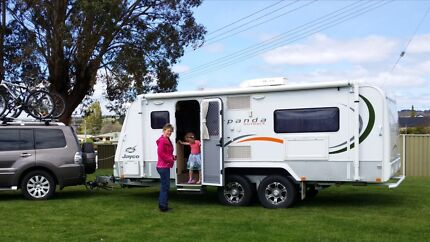 Jayco Expanda Outback 17-56-2OB fully optioned Launceston 7250 Launceston Area Preview