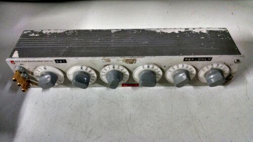 General Radio 1433-W Decade Resistor Box used