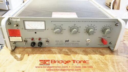 Power Designs 1570 High-Voltage DC Power Source