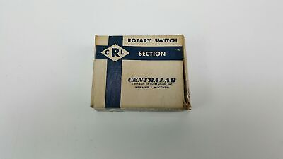 Centralab Ceramic Rotary Switch Section - Nos - T