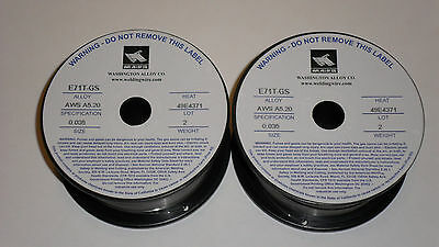 .035 E71t-gs Flux Cored Welding Wire - 4 Pounds 2x2lbs