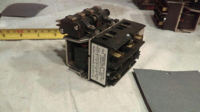 Reversing Contactor 1HP 3 Ph. 120 VAC Coil, Ward Leonard CAT. 4482-32013 New