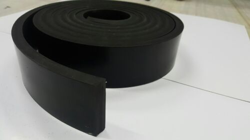 "NEOPRENE RUBBER ROLL 1/4 THK X 2"" WIDE x10 FT LONG  FREE SHIPPING"