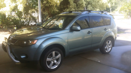 2008 Mitsubishi outlander limited edition