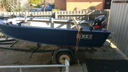 4.3m Stacer alloy boat open to reasonable offers