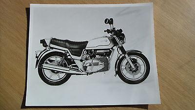 RO13 - Genuine Original Factory Photo Of Norton Classic Motorcycle
