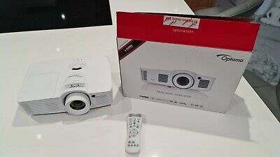 Optoma HD39 Darbee Projector in white, 1080p 3,500 Lumens 3D
