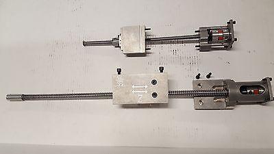 Cnc Lathe Ballscrew Conversion Kit Fits The Grizzly G0768  8x16 Lathe