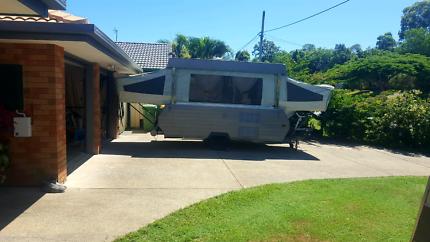 pop up caravan