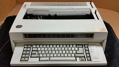 Vintage Ibm Wheelwriter 6 Series Ii Electronic Typewriter 6784 Works 1694