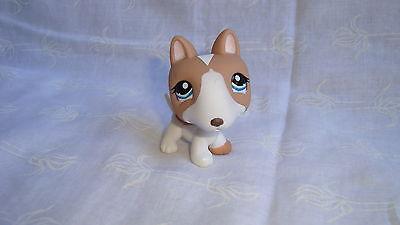 Figurine littlest petshop chien bull terrier dog