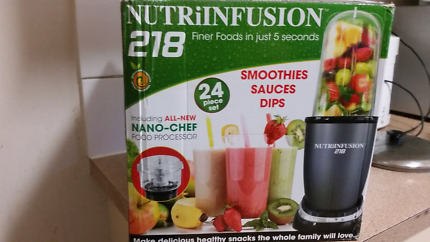Nutri infusion 218 brand new never bee used