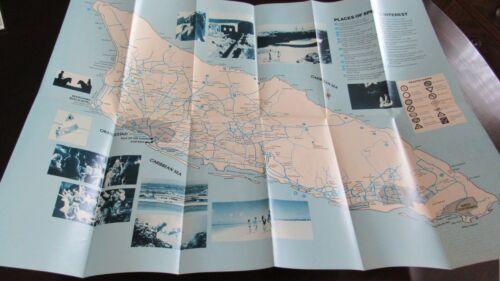 ARUBA Road Map from Golden Tulip Hotels